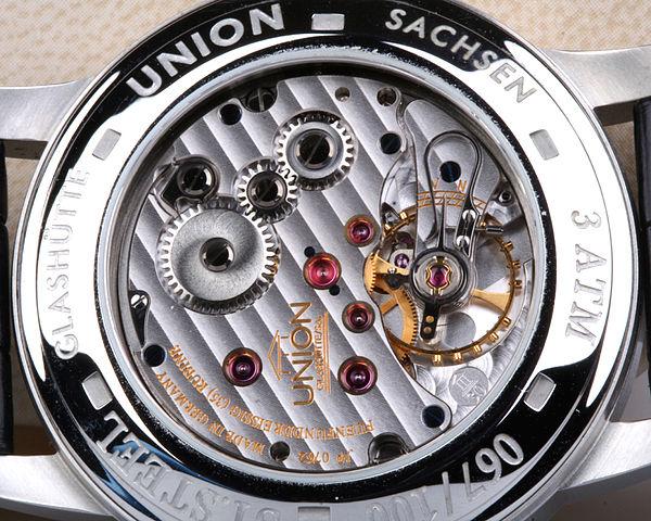Uhren Köck Technik-ABC Bild Genfer Streifen