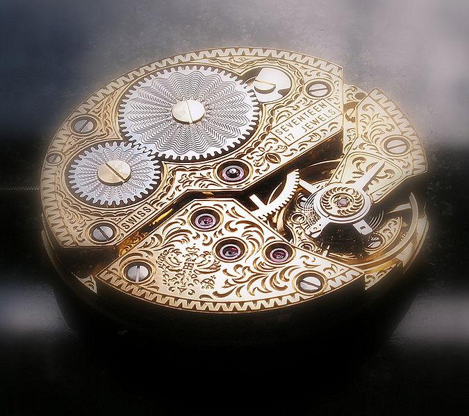 Uhren Köck Technik-ABC Bild Guillochierung