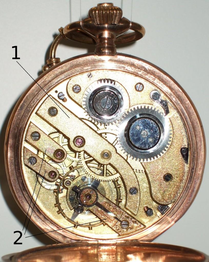 Uhren Köck Technik-ABC Bild Kloben