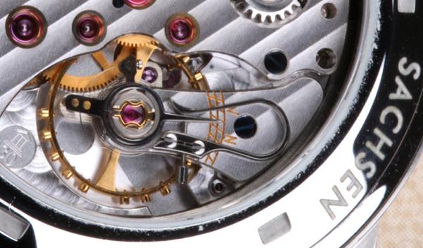 Uhren Köck Lexikon Reguliersystem-Schwanenhals-Feinregulierung