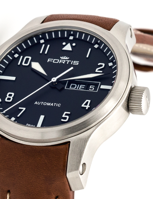 Fortis Aeromaster Steel 655.10.10.L08