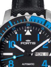 Fortis Marinemaster Blue 670.15.45.LP