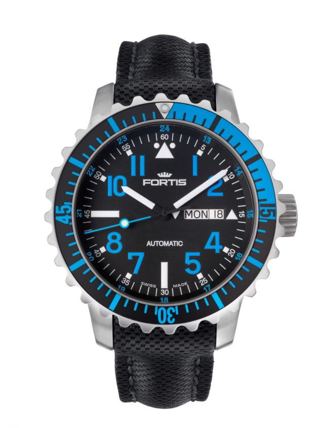 FORTIS MARINEMASTER BLUE