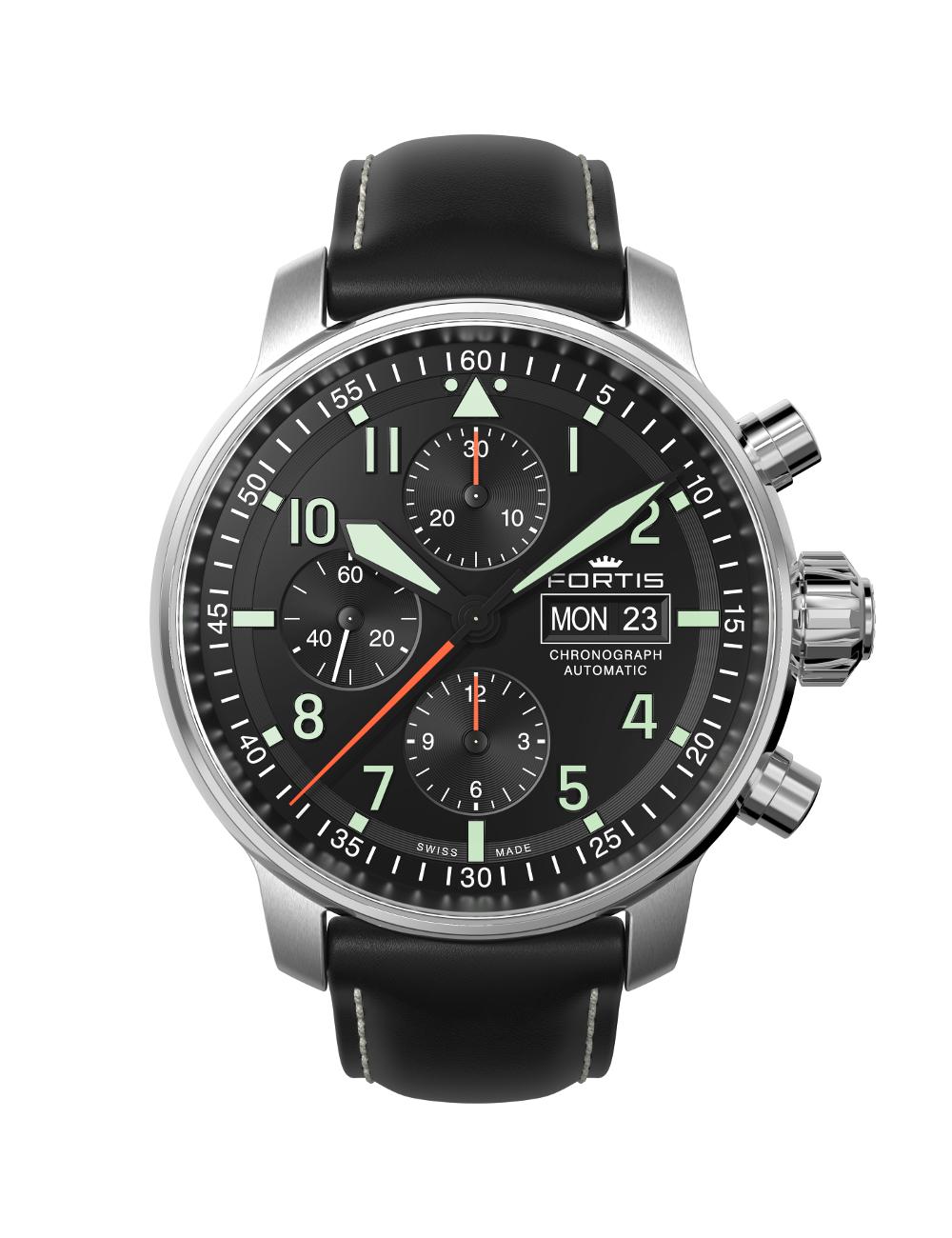 Wundervoll Gute Herrenuhren Dekoration Von Fortis Flieger Professional Chronograph | Uhren Köck,