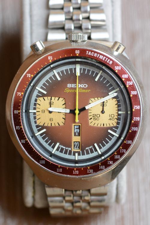 Uhren Köck Uhrenlexikon Bild Tachometer-Skala