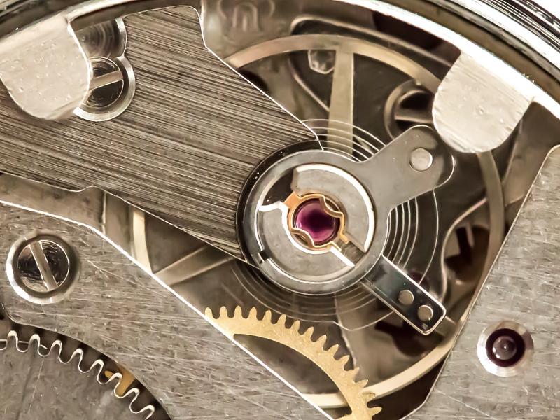 Uhren Köck Uhrenlexikon Bild Straumann-Nivarox-Spirale