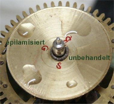 Uhren Köck Uhrenlexikon Bild Epilamisierung