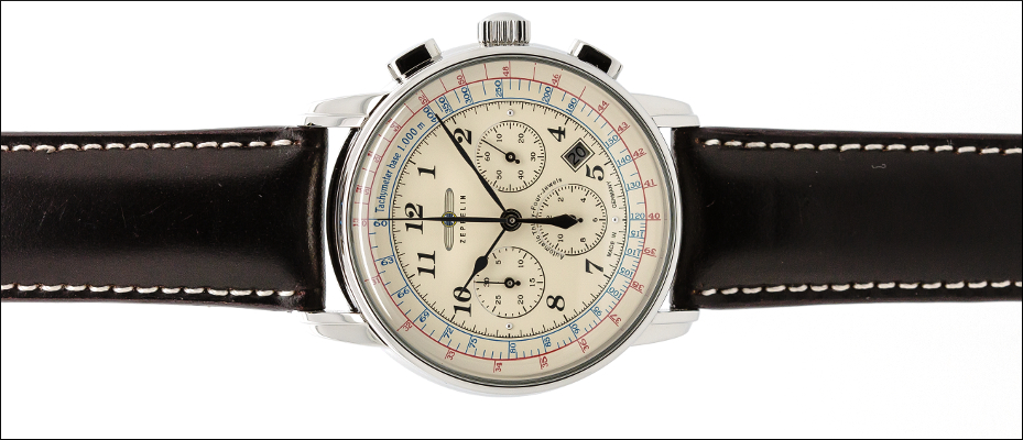 ZEPPELIN LZ 126 LOS ANGELES CHRONOGRAPH AUTOMATIK 7624-5