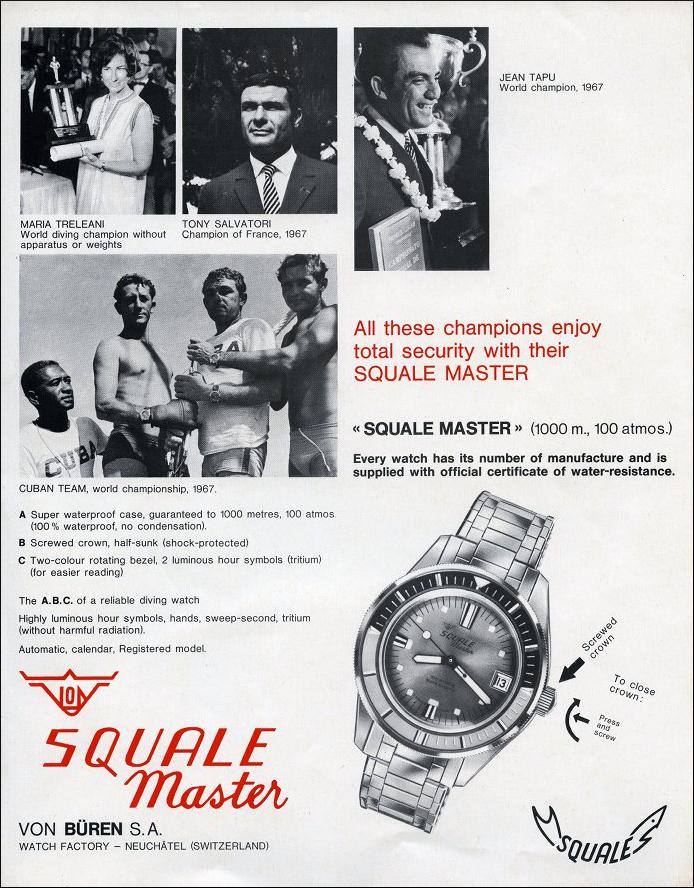 Uhren Köck Marke Squale Bild 1