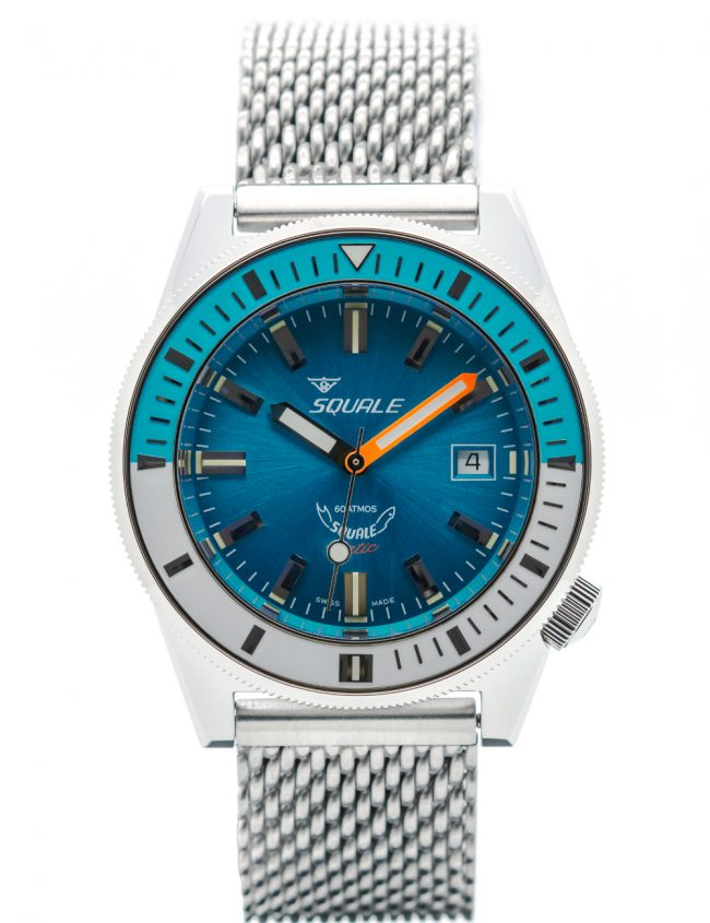 SQUALE SQUALEMATIC 60 ATM PROFESSIONAL BLUE