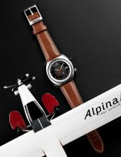 ALPINA STARTIMER PILOT HERITAGE AL-555DGS4H6