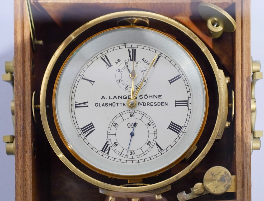 Uhren Köck Uhrenlexikon Bild Marineuhren Lange Marinechronometer