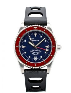 UHR SQUALE GIRAMONDO GMT 30 ATM BLUE-RED