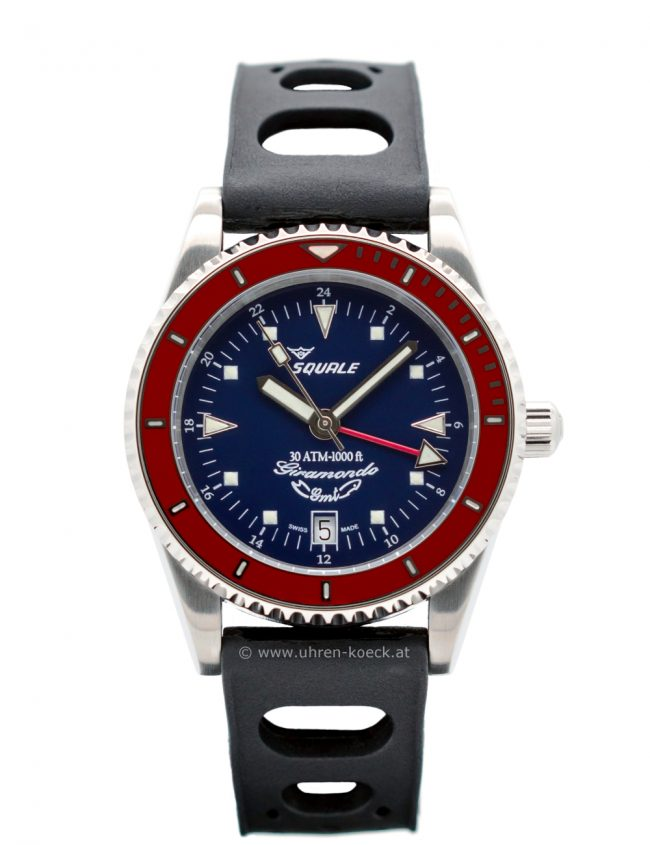 SQUALE GIRAMONDO GMT 30 ATM BLUE-RED