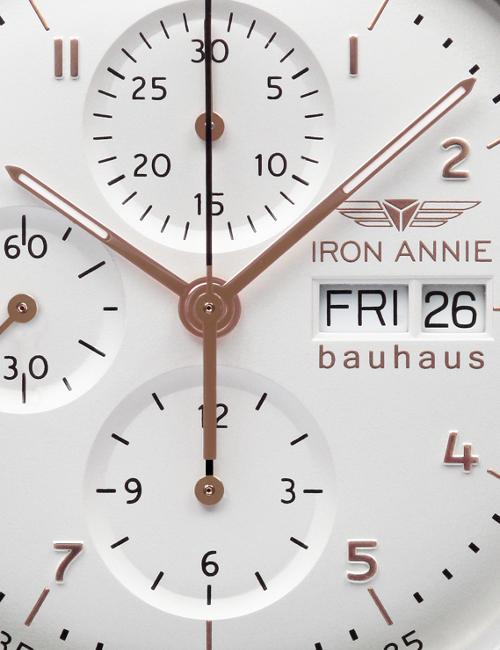 IRON ANNIE BAUHAUS CHRONOGRAPH AUTOMATIK 5018-4