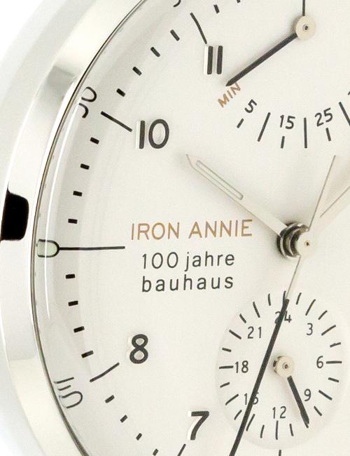 IRON-ANNIE 100 JAHRE BAUHAUS AUTOMATIK GANGRESERVE 5066-1