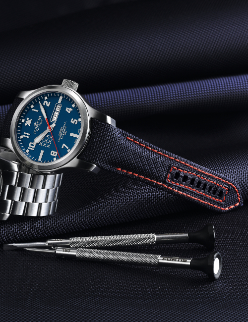 FORTIS PC-7 TEAM AEROMASTER EDITION DAY-DATE 655.10.55.M