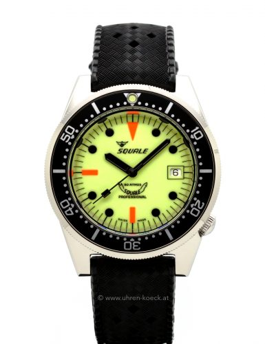 SQUALE 1521-026/A FULL LUMINOUS 50 ATM PROFESSIONAL